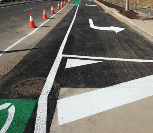 Arrow guides - Road line Marking