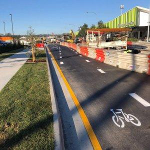 bike lane line marking