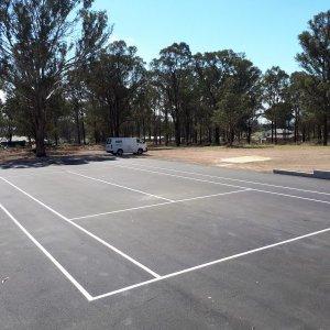 Car Parking Striped Line Markings