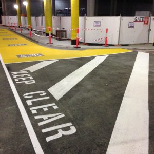 Clearways- Safety Line Markings