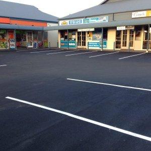 Commercial Car Park Line Markings