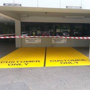 Customer Only - Car Park Line Marking
