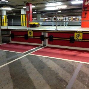 Forklift and pallet lanes Line Marking