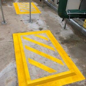 Industrial and safety line markings