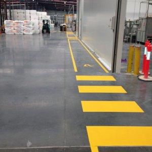 Industrial Line Marking for Pedestrians