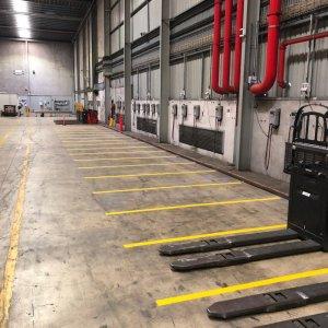 Industrial line markings
