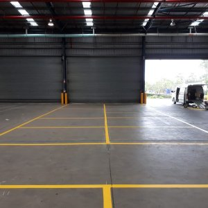 Line Marking- Allocated Storage Areas