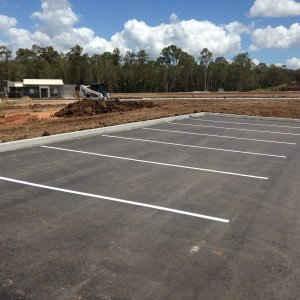 Line Marking for Parking Spaces