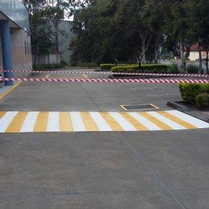 Line Marking- Pedestrian Walkway
