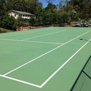 Line Marking - Tennis Court