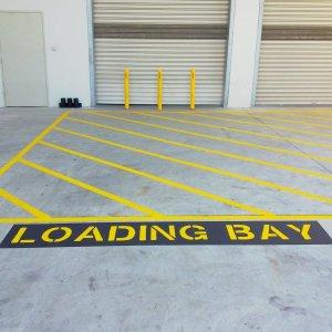Loading Bay Line Markings