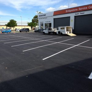 Parallel and Adjacent Car Parking Line Guides