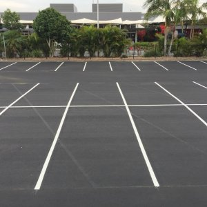 Parallel Car Parking Lines