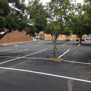 Parking bay QLD- Car Park Line Markings