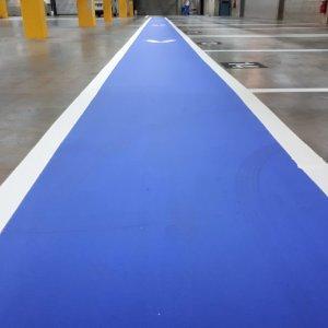 Parking Bay Separation Line Marks