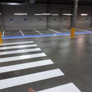 Parking bay Walkways