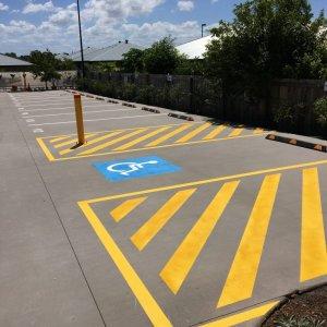 Parking for disabled or elderly