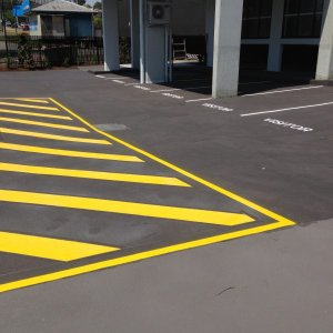 Parking Indications - Car Park Line Marking