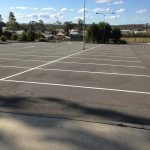 Parking Lines - Outdoor Parking space
