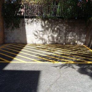 Parking Lot Line Stripping - Line Marking