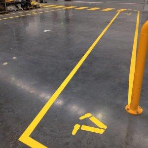 Pedestrian crossway- Industrial Line Marking