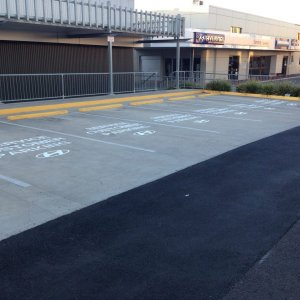 Reserved Parking Signs - Line Marking