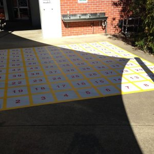 Residential line marking and custom stencils