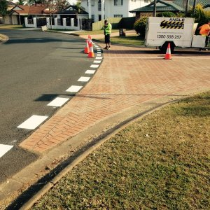 Residential Line Markings - Separation Lines