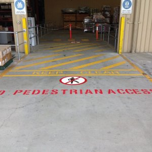 Restriction and Safety Line Marking