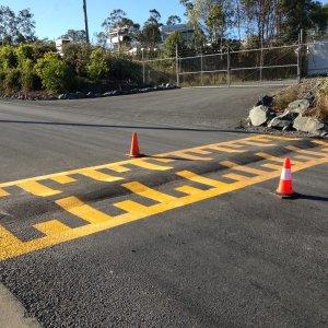 Road Line Marking - Crossing