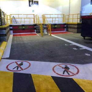 safety line markings