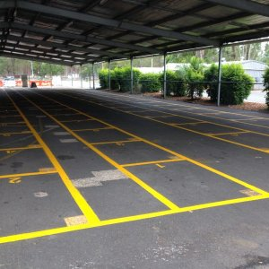 Storage Areas- Industrial Line Marking