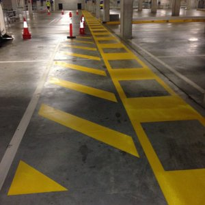 Traffic Stripping Car Park Line Markings
