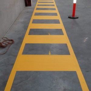 Walkway for Pedestrians - Industrial Line Marks