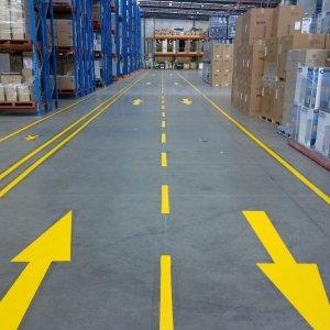 Warehouse Directional Arrows