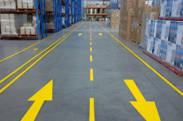 Warehouse Directional Arrows